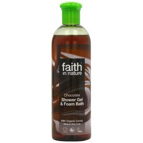 Faith in Nature Bio kakaó (csokoládé) 250ml tusfürdő